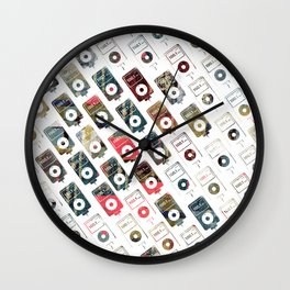 iPattern_no2 Wall Clock