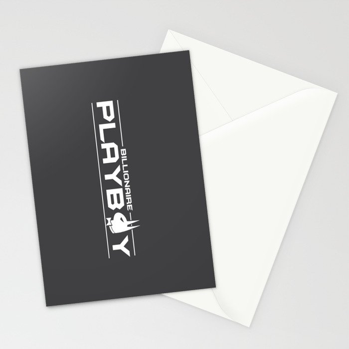 Billionaire Playboy Stationery Cards