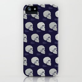 Still in the game iPhone Case