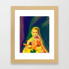 Wolf Boy Framed Art Print