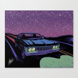The Road So Far Canvas Print