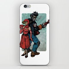 Ginny & Clutch (Little Red Riding Hood Reloaded) iPhone & iPod Skin