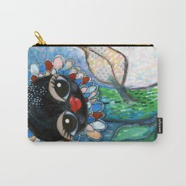 """Waving at you"" Carry-All Pouch"