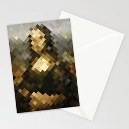 Mosaic carpet Stationery Cards