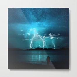 Storms Coming... Metal Print