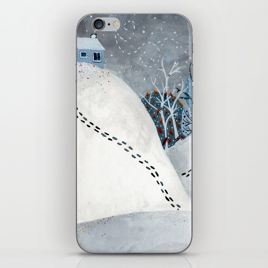 THE ROAD iPhone & iPod Skin