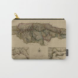 Map Of Jamaica 1775 Carry-All Pouch