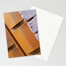 Yellow Brick Lines Stationery Cards