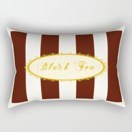 Black Tea Antique Rectangular Pillow