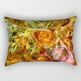 Bismuth metal surface Rectangular Pillow