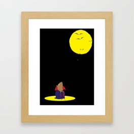vampster Framed Art Print