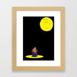 vampster Framed Art Print