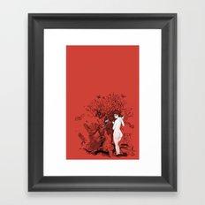 Lilith tastes. Framed Art Print