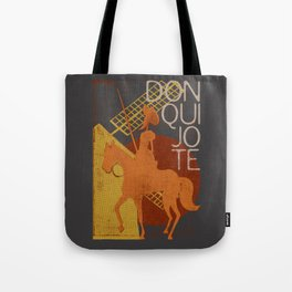 Books Collection: Don Quixote Tote Bag
