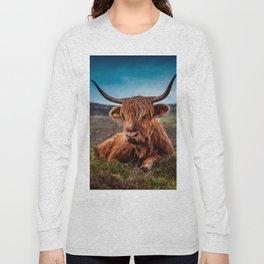 Scottish Highland longhorns Rancher Long Sleeve T-shirt