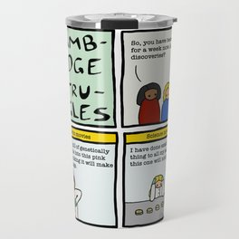 Cambridge stuggles: Science Travel Mug