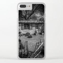 Le Jardin de Vincent Black and White Clear iPhone Case