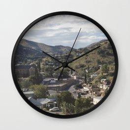 Bisbee Arizona Wall Clock