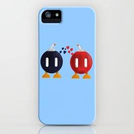 Bomb-Omb Love iPhone Case