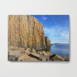 Cliffside of Súgandisey, Stykkishólmur, Snæfellsnes, Iceland (2) Metal Print