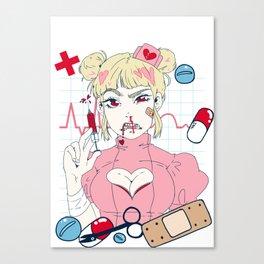 Nurse Girl Canvas Print