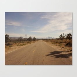 Through the Mojave Canvas Print