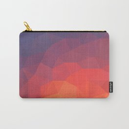 Flame Low Poly Carry-All Pouch
