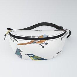 Cute Bird Animals Birdwatching Gift Fanny Pack