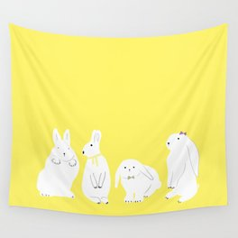 cute bunnies Wall Tapestry