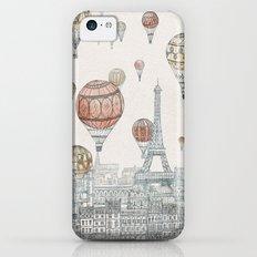 Voyages Over Paris Slim Case iPhone 5c