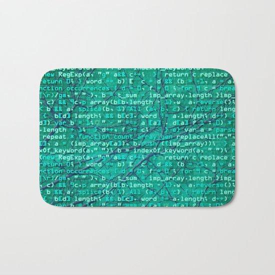 code_forest Bath Mat