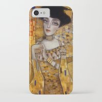 klimt iPhone & iPod Cases featuring klimt by Antonio Lorente