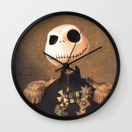Jack Skellington General Portrait Painting | Fan Art Wall Clock