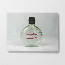 Love Potion Metal Print
