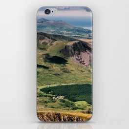 Snowdon Moutain View iPhone Skin