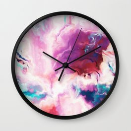 The Absent Minded Artist #society6 #decor #buyart Wall Clock