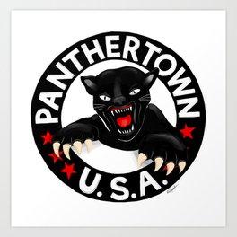 WGH Panthers - Warren Ohio 100 Art Print