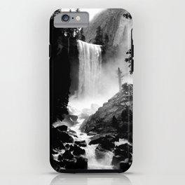 Yosemite Vernal Falls iPhone Case