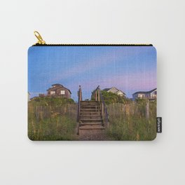 Beach Houses at Sunrise Carry-All Pouch