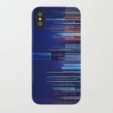 Miami Skyline Abstract iPhone X Slim Case