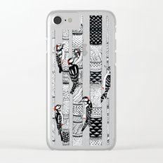 Woodpeckers Clear iPhone Case