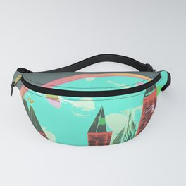 Castles Through The Emotional Windows Fanny Pack