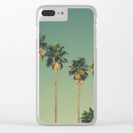 Hollywood Summer Clear iPhone Case