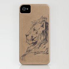 Lion Profile iPhone (4, 4s) Slim Case