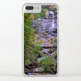 Amicalola Falls - North Georgia Clear iPhone Case