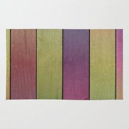 Wood Plank Colormix Rug