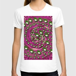 Soft and still lotus pond T-shirt