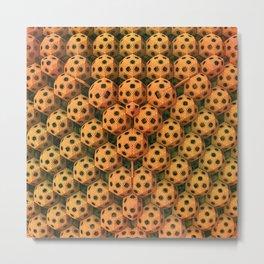 Little Speckled Balls Metal Print