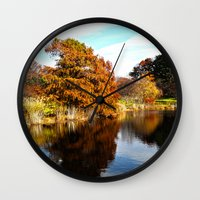 arnold Wall Clocks featuring Arnold Arboretum by Christopher Richards