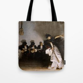"""John Singer Sargent """"El Jaleo"""" Tote Bag"""